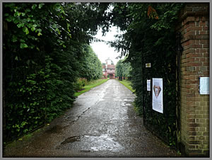 Front Entrance to Ingatestone Hall