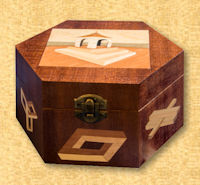 Impossibles Hexagonal Box