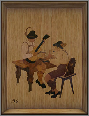 Guitar and Zither players