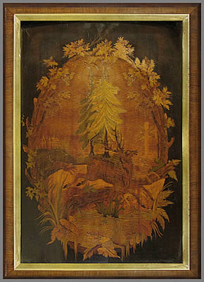 Old Marquetry Picture