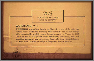 Label from Wurzburg picture