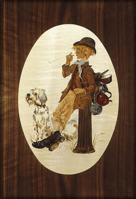 Tom Tinker and his Dog by A D Lord