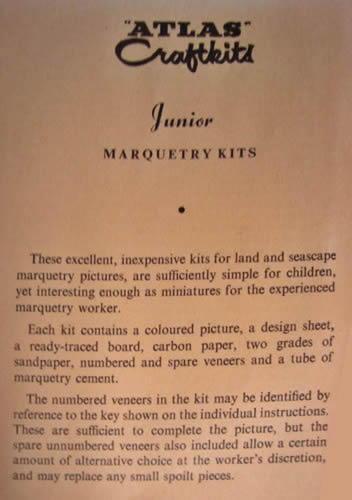 Junior kits description