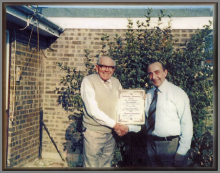 Len and Alf with Certificate