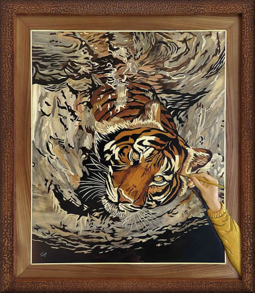 painting_a_swimming_tiger